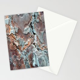 Bark and wood pattern photos Stationery Cards