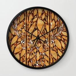 Confused Deer Wall Clock