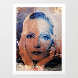 Divas - Greta Art Print