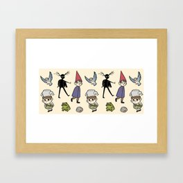 OTGW Pattern Framed Art Print