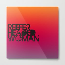 Reefer Headed Woman Metal Print