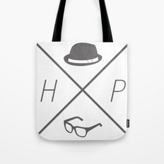 Hat and Glasses Tote Bag