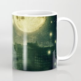rooftops mystery night Coffee Mug