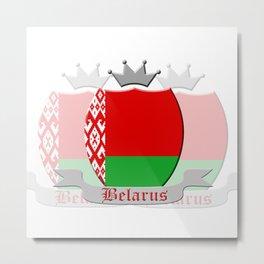 Belarus Metal Print