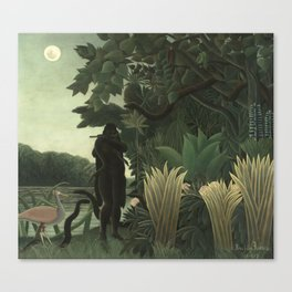 Henri Rousseau - The Snake Charmer Canvas Print
