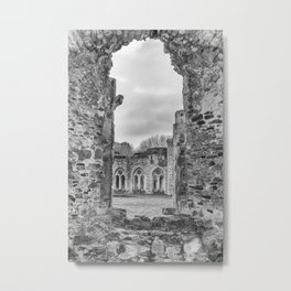 Netley Abbey. Metal Print