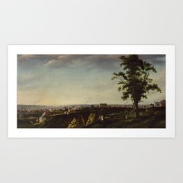 Francis Guy (American, 1760-1820). View of Baltimore from Chapel Hill, 1802-1803. Art Print