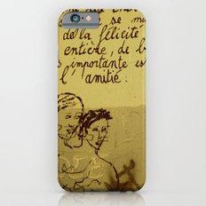 French Graffiti in Paris Slim Case iPhone 6s