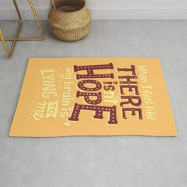 There is hope Rug