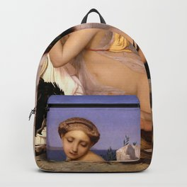 Jean-Leon Gerome - Gustave Moreau - Young Greeks Attending A Cock Fight - Digital Remastered Edition Backpack
