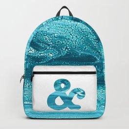 Teal Ampersand Backpack