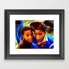 Lost Boys III Framed Art Print