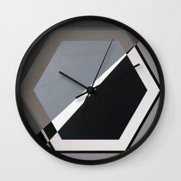 London - hexagon Wall Clock