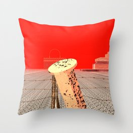 Squared: Shackle Throw Pillow