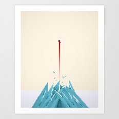 Fortress of Solitude Breakout Art Print