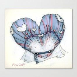 Reina de Corazones (Queen of Hearts) Canvas Print