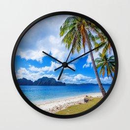 Hawaii Island Wall Clock