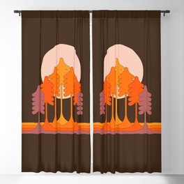 Super Worm Equinox Moon Blackout Curtain
