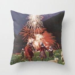 Gunpowder Villain Throw Pillow