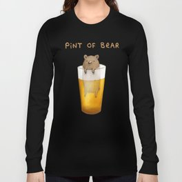 Pint of Bear Long Sleeve T-shirt