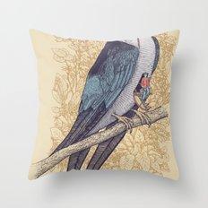 Frequent Passenger Throw Pillow