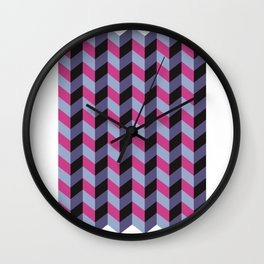 016 - A ladder to my mind Wall Clock