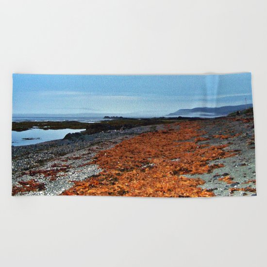 Seaweed Beach Beach Towel