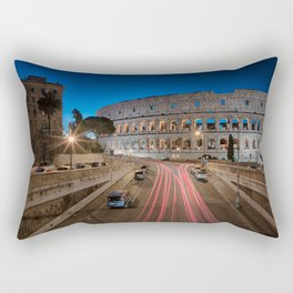 Colosseum at dawn Rectangular Pillow