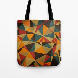 The Colorful Triangle Tote Bag