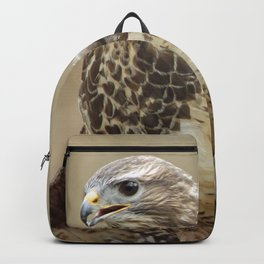 magnificent falcon Backpack