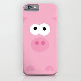 Minimal Pig iPhone Case
