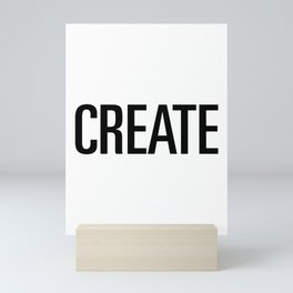Create Mini Art Print
