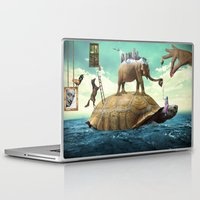 dali Laptop & iPad Skins featuring Dali  by Veronika