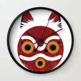 Princess Mask Wall Clock