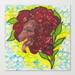 A Hideous Bouquet Canvas Print