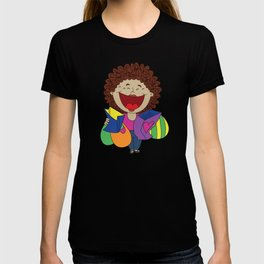 Inspired on my mom, when she just can't stop laughing!   T-shirt