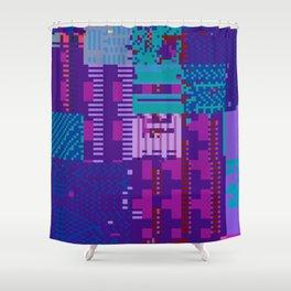 taintedcanvas98 Shower Curtain