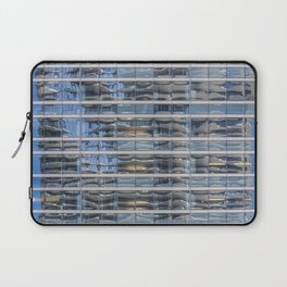 Aqua Tower Reflection Laptop Sleeve