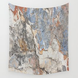 Flaking Weathered Wall rustic decor Wall Tapestry