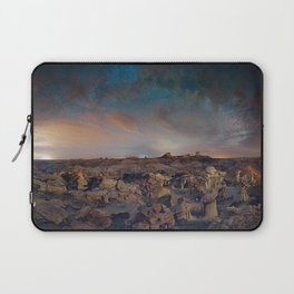 Exploring the Bisti Badlands of New Mexico Laptop Sleeve