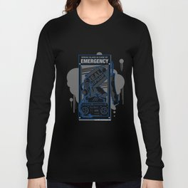 Emergency Hip Hop to the Rescue!  Long Sleeve T-shirt