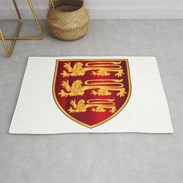 British Three Lions Crest Rug