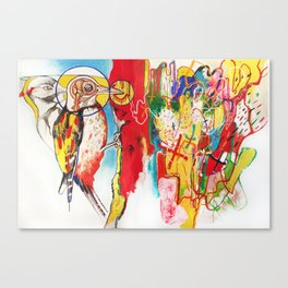 The Anatomy of Self Infliction  Canvas Print