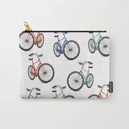 Vintage Cycling Carry-All Pouch