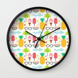 Yummy Summer Wall Clock