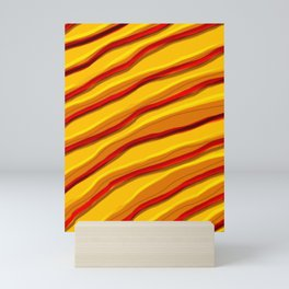 The Desert Remembers The Waves Mini Art Print