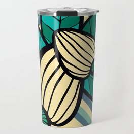 Geometric Cashew Pattern 2 Travel Mug