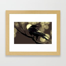 Crow Framed Art Print