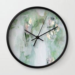 Leaf It Alone Wall Clock