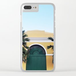 GREEN DOOR OF SAN JUAN Clear iPhone Case